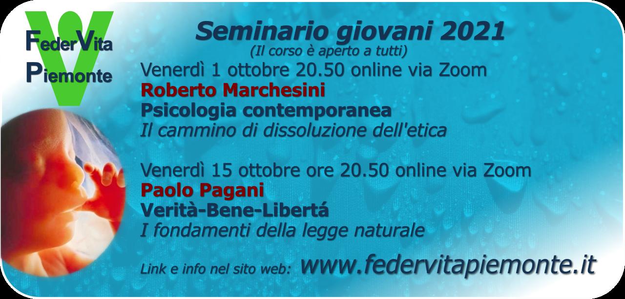 Seminario giovani 2021
