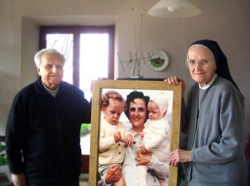 Una Santa per la famiglia (Santa Gianna Beretta Molla) – Suor Virginia e Don Giuseppe Beretta
