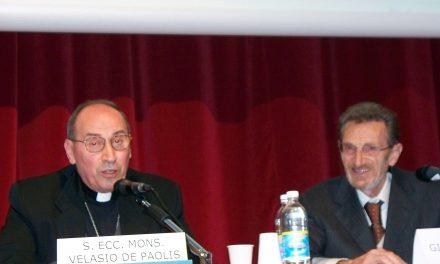 La Chiesa non si rassegna – Velasio De Paolis